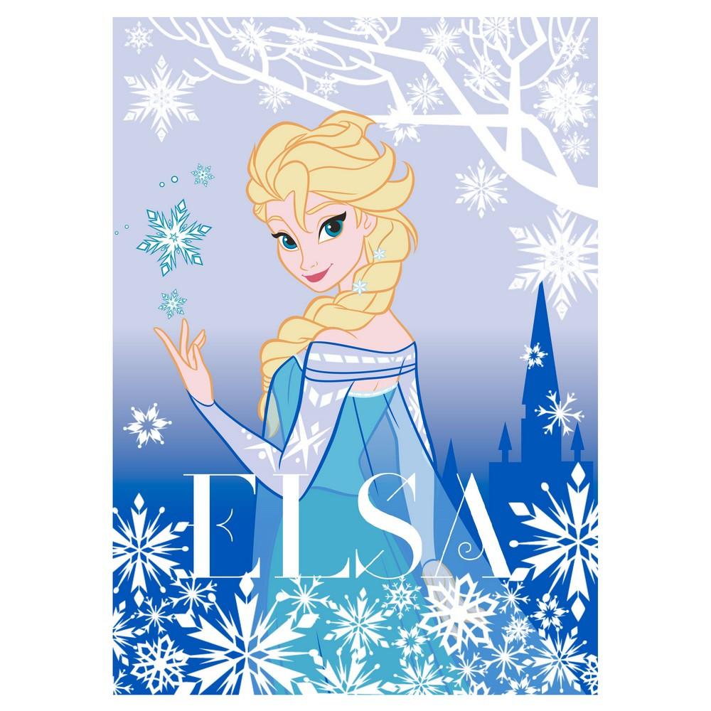 Tapis la reine des neiges 133 x 95 cm tapis loulomax - Tapis reine des neiges ...