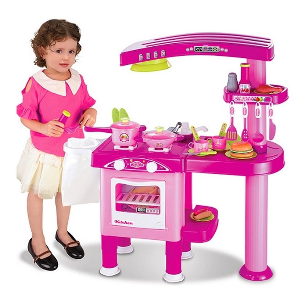 cuisine compl te enfant machine laver lave vaisselle four jouet d nette cu. Black Bedroom Furniture Sets. Home Design Ideas