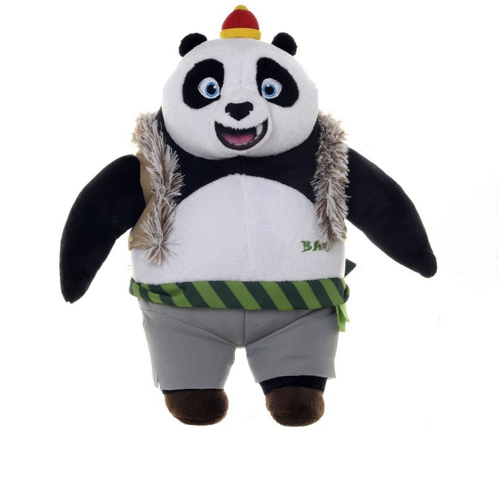 peluche bao 25 cm kung fu panda 3 ebay. Black Bedroom Furniture Sets. Home Design Ideas