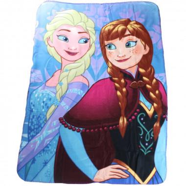 plaid polaire la reine des neiges couverture enfant disney mod3 plaids loulomax. Black Bedroom Furniture Sets. Home Design Ideas