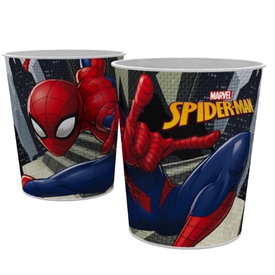 Corbeille a papier Spiderman poubelle enfant Disney