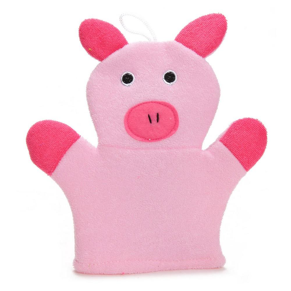 gant de toilette cochon enfant b 233 b 233 enfants loulomax