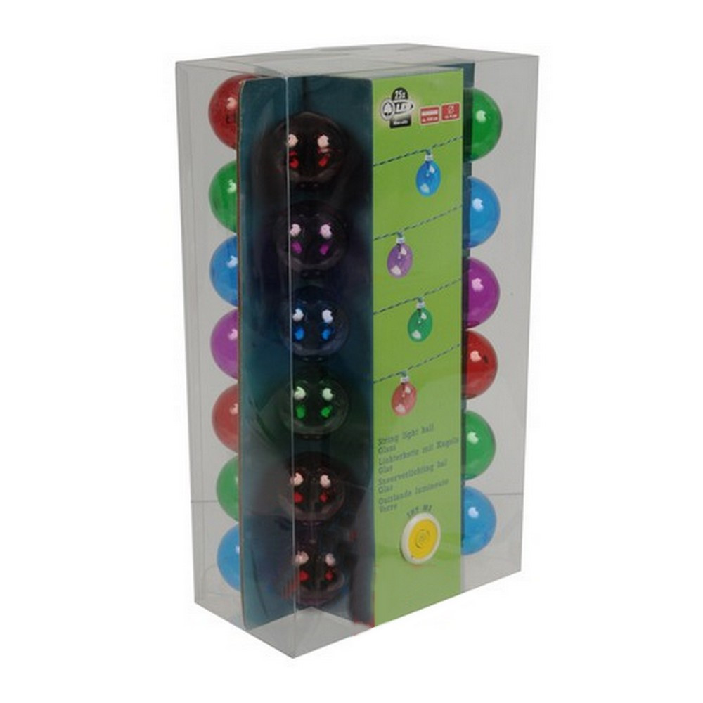 Guirlande lumineuse multicolores led alim pile jardin for Guirlande jardin led