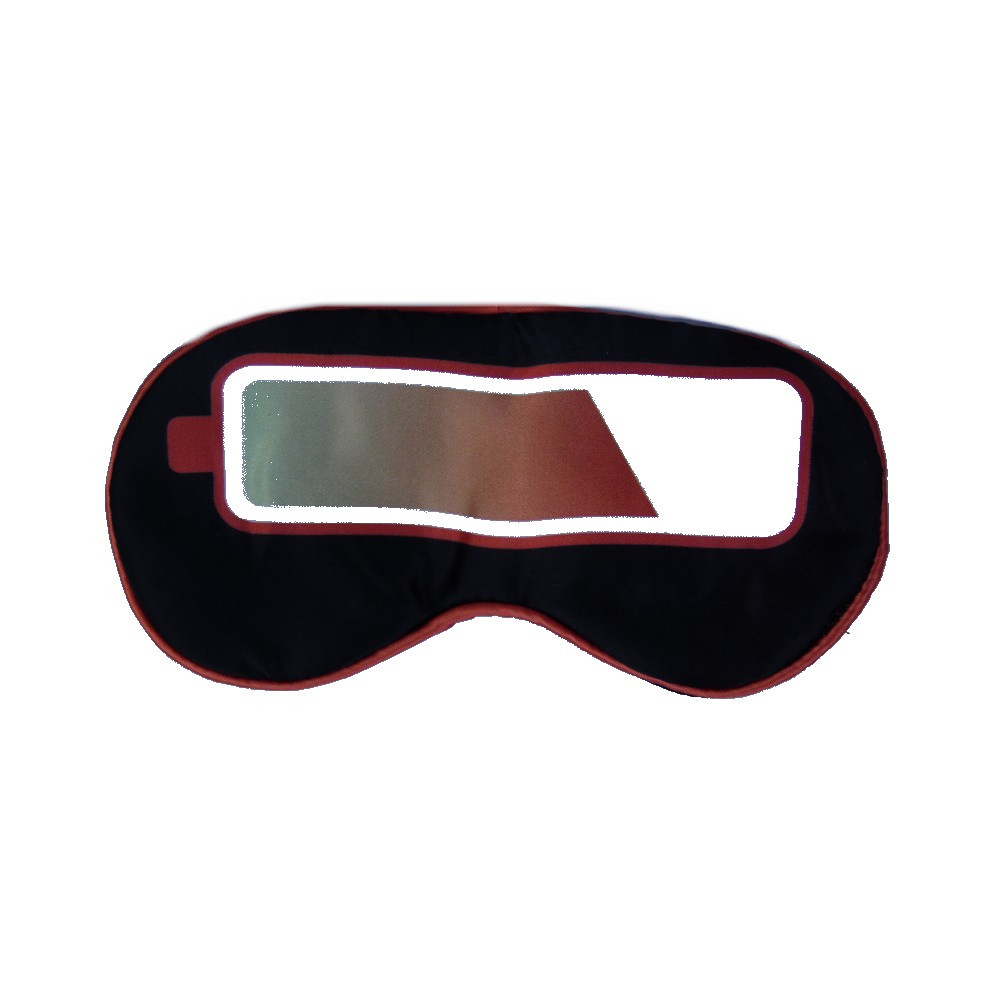 masque de nuit prot ge yeux voyage sommeil noir et. Black Bedroom Furniture Sets. Home Design Ideas