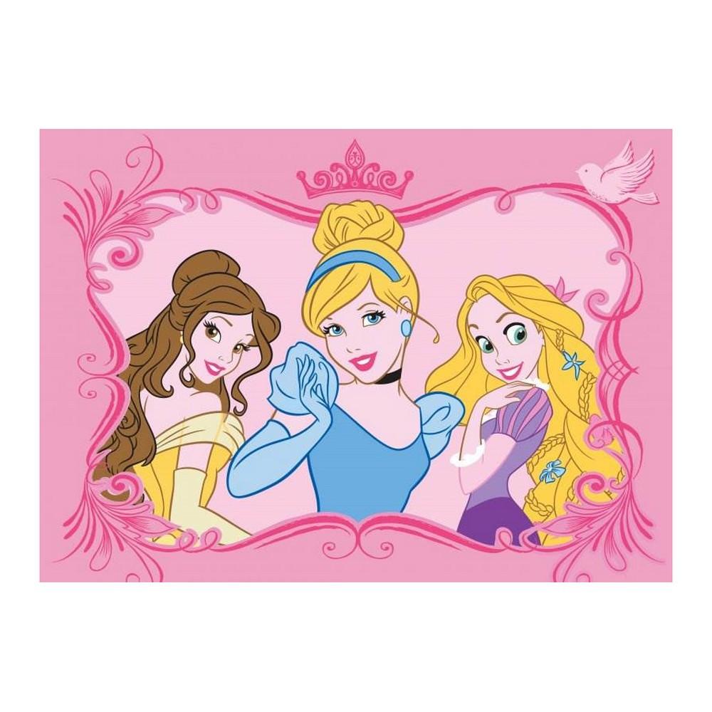 Tapis Disney Princesse 133 X 95 Cm Enfant Tapis Loulomax