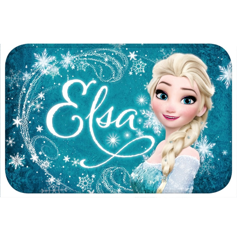 tapis disney la reine des neiges 60 x 40 cm tapis enfant. Black Bedroom Furniture Sets. Home Design Ideas