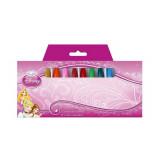 12 crayon gras cire Princesse Disney