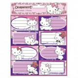 Lot de 16 étiquette Charmmy Kitty Disney cahier livre classeur enfant
