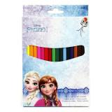 18 crayon de couleur La reine des Neiges Disney enfant ecole
