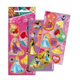 Lot 3 planche de Stickers Princesse Autocollant 12 x 6 cm NEW