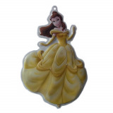 Princesse Belle décoration murale 3D Disney enfant, stickers tableau
