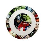Assiette creuse Micro onde Les Avengers enfant réutilisable