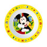 Assiette creuse Micro onde Mickey enfant réutilisable