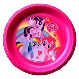 Assiette Plate My Little Pony Repas Enfant Plastique Reutilisable