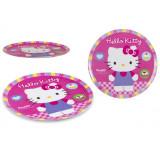 Assiette plate Disney Hello Kitty repas enfant