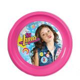 Assiette plastique plate Soy Luna repas enfant