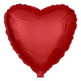 Ballon hélium géant 60 cm coeur rouge
