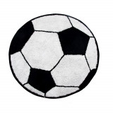 Tapis ballon de football enfant chambre foot