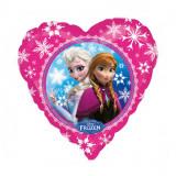 Ballon Disney La reine des neiges hélium Ana Elsa Coeur