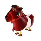 Ballon hélium cheval qui marche 4 pattes