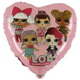 Ballon hélium LOL neuf Disney Coeur