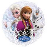 Ballon géant Olaf Ana Elsa La reine des neiges hélium Disney