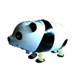 Ballon hélium panda qui marche 4 pattes