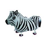 Ballon hélium zebre qui marche 4 pattes
