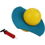 Ballon sauteur enfant saturne anneau pogo annee 80