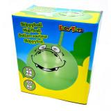 Ballon sauteur Dragon vert pogo enfant balle rebondissante