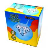 Ballon sauteur Elephant bleu pogo enfant balle rebondissante