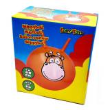 Ballon sauteur girafe orange pogo enfant balle rebondissante