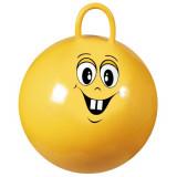 Ballon sauteur enfant pogo balle rebondissante Jaune 50 cm