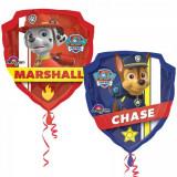 Ballon La Pat patrouille XL hélium Chase Marcus