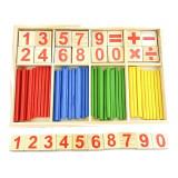 Jeu en Bois Stick Baton Chiffre Mathematique Compter Calcul Maternelle