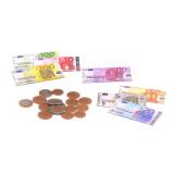 Set de 30 pièces et billets factices argent dinette marchand jouet enfant