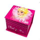 Boite a bijoux La Reine des Neiges Elsa miroir Frozen Rose