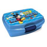 Boite à goûter Mickey Mouse enfant bleu hey