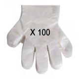 Lot de 100 gants jetables, maison, essence, chien, gant jetable