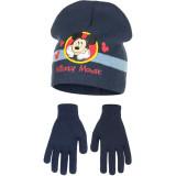 Bonnet Gants Mickey Mouse Bleu Taille 54 Disney enfant