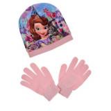Bonnet Gants Princesse Sofia Taille 54 Rose Disney enfant