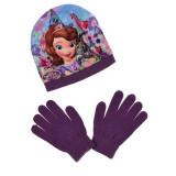 Bonnet Gants Princesse Sofia Taille 54 Violet Disney enfant