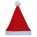 Bonnet de Noël rouge et blanc, taille adulte, père ou mère noël
