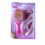 Brosse + 4 barette Disney Princesse enfant