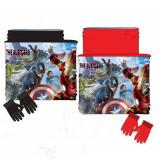 Cache col et gant Avengers Snood tour de cou Echarpe
