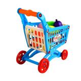 Chariot de course garni fruit legume plastique jouet enfant