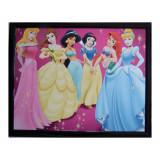 Tableau Princesse  20 x 25 cm Disney cadre enfant Aurore Belle Ariane