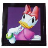 Tableau Daisy Disney Mickey cadre 23 x 23 cm