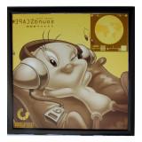 Tableau Titi Disney looney tunes cadre 23 x 23 cm chambre enfant
