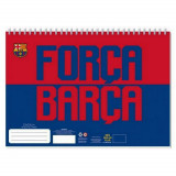 Cahier de dessin FC Barcelone livre de coloriage Stickers Regle Pochoir Album Barca